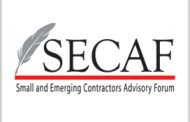 Small and Emerging Contractors Advisory Forum Announces 10th Annual Government Contractor Awards