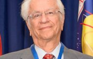 NASA Awards Distinguished Public Service Medal to Johns Hopkins APL Scientist Tom Krimigis