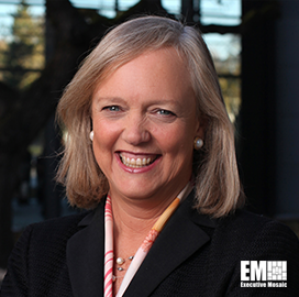 ExecutiveBiz - HPE CEO Meg Whitman to Leave DXC Board; Mike Lawrie Comments
