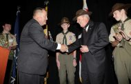 Walt Havenstein of SAIC Honored With 'Good Scout' Award