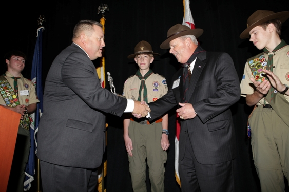 Walt Havenstein of SAIC Honored With 'Good Scout' Award - top government contractors - best government contracting event