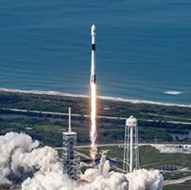 """SpaceX's Falcon 9 """"˜Block 5' Rocket Model Sends Comms Satellite Into Orbit - top government contractors - best government contracting event"""