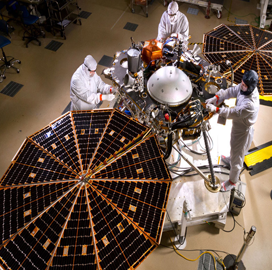 "ExecutiveBiz - ULA Rocket Launches Lockheed-Built ""˜InSight' Mars Lander for NASA"