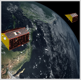 Microwave Ranging Instruments on GRACE-FO Satellites Contain SSL-Built Components - top government contractors - best government contracting event