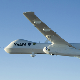 "ExecutiveBiz - NASA Launches ""˜Ikhana' Unmanned Aircraft for Initial Test Flight in National Airspace"