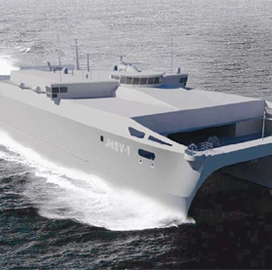 Austal USA-Built Expeditionary Fast Transport Vessel Completes Navy Acceptance Trials - top government contractors - best government contracting event
