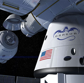 SpaceX's Crew Dragon Wraps Up Thermal Vacuum Tests at NASA's Plum Brook Station - top government contractors - best government contracting event