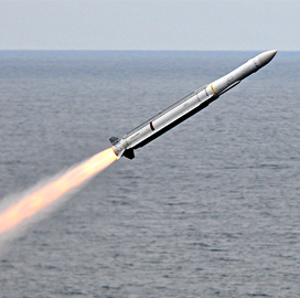 NATO Puts Raytheon's Updated Seasparrow Missile Through Live-Fire Test - top government contractors - best government contracting event