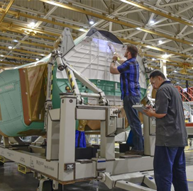 Northrop Kicks Off F-35 Center Fuselage Full-Rate Production - top government contractors - best government contracting event