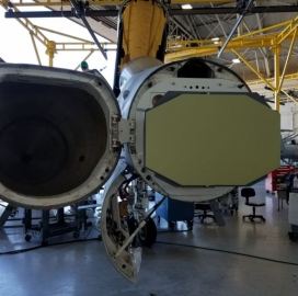 Northrop Conducts Beam Radar Fit Check on Marine Corps Hornet Aircraft - top government contractors - best government contracting event