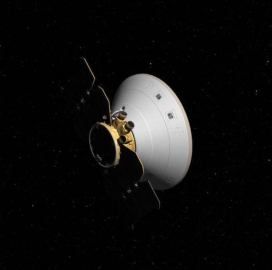 ExecutiveBiz - Report: Lockheed-Built 'InSight' Lander Probe Set for Mars Descent