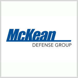 McKean Defense Books $70M in Contracts With Naval Surface Warfare Center - top government contractors - best government contracting event