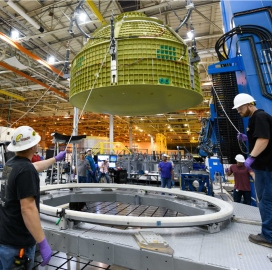 Lockheed's Orion EM-2 Capsule Enters Final Assembly Phase - top government contractors - best government contracting event