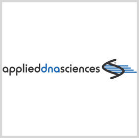 Applied DNA Sciences Awarded DLA Marking Services Extension - top government contractors - best government contracting event