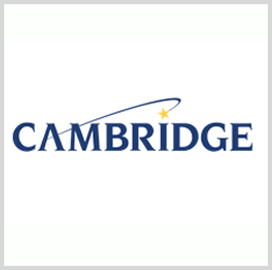 Cambridge Gets CMMI Level 3 Rating for Services - top government contractors - best government contracting event