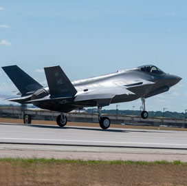 Cubic Taps Leonardo DRS to Supply F-35 Training Subsystems - top government contractors - best government contracting event