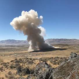 Northrop Tests GEM 63 Motor for ULA's Atlas V Rocket - top government contractors - best government contracting event