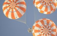 NASA-Jacobs Team Completes Orion Spacecraft Parachute System Test