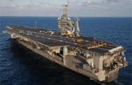 HII Shipbuilding Division Installs Updated Radar Tower on USS George Washington Carrier