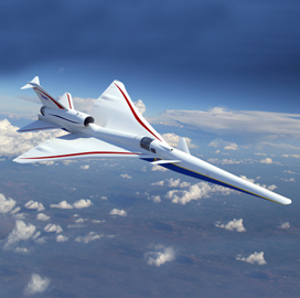 Lockheed Begins Construction Work on X-59 Supersonic Aircraft - top government contractors - best government contracting event