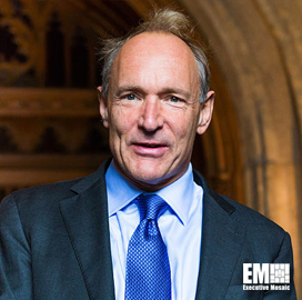 """Tim Berners-Lee Seeks to Address Privacy Issues, Fake News via """"˜Magna Carta for the Web' - top government contractors - best government contracting event"""