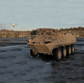 Danish Firm MyDefence, General Dynamics Integrate Counter UAS Sensors Into Land Vehicle - top government contractors - best government contracting event