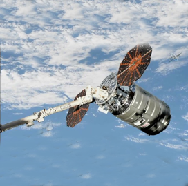 ExecutiveBiz - Northrop's Cygnus Spacecraft Arrives at ISS for 10th Cargo Resupply Mission