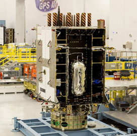 Harris Supplies Additional GPS III Satellite Navigation Payload to Lockheed - top government contractors - best government contracting event