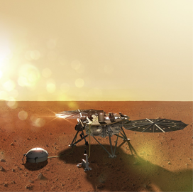 "ExecutiveBiz - Lockheed-Built ""˜InSight' Spacecraft Lands on Mars"
