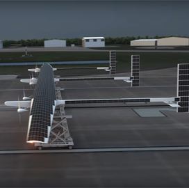 Boeing Subsidiary Introduces New Solar-Powered, Long-Endurance Drone - top government contractors - best government contracting event