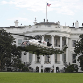 Sikorsky VH-92A Aircraft Passes Initial Test to Become New Presidential Helicopter - top government contractors - best government contracting event