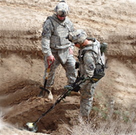 L3 Secures $84M Army Mine Detection System Production Contract - top government contractors - best government contracting event
