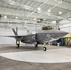 Lockheed Hits F-35 Aircraft Production Goal for 2018; Greg Ulmer Quoted - top government contractors - best government contracting event