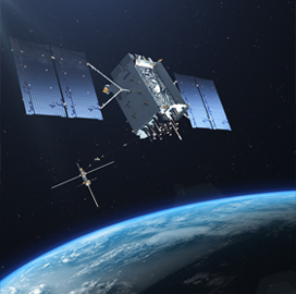 SpaceX's Falcon 9 Sends First Lockheed-Built GPS III Satellite to Orbit; Johnathon Caldwell Quoted - top government contractors - best government contracting event