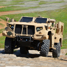Army, Marines to Receive Oshkosh-Built Joint Light Tactical Vehicles in Early 2019 - top government contractors - best government contracting event