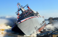Lockheed-Led Shipbuilding Team Launches Navy's 19th LCS; Joe DePietro Quoted