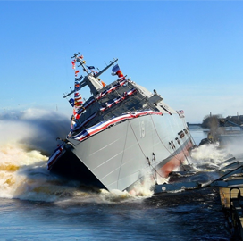 Lockheed-Led Shipbuilding Team Launches Navy's 19th LCS; Joe DePietro Quoted - top government contractors - best government contracting event