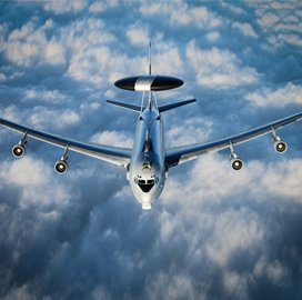Boeing Delivers Final Updated AWACS Aircraft to NATO - top government contractors - best government contracting event