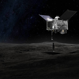 Maxar Subsidiary's Laser Tech Scans Bennu for Asteroid Sample Return Mission - top government contractors - best government contracting event