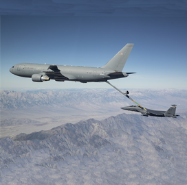 Boeing Completes KC-46 Certification Test's Second Phase - top government contractors - best government contracting event