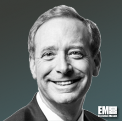 """Microsoft's Brad Smith Calls on White House to Endorse """"˜Paris Call' for Cybersecurity - top government contractors - best government contracting event"""
