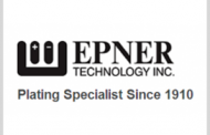 NIST Awards Gold Standard to Epner Technology's Reflective Electroplating