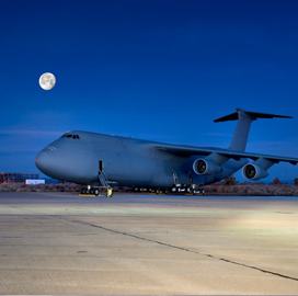 Lockheed to Continue Logistics Support for Air Force C-5 Fleet - top government contractors - best government contracting event