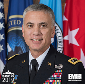 Gen. Paul Nakasone, NSA & Cybercom Head, Added to 2019 Wash100 for Leading U.S. Efforts in Cyberspace & Intellectual Property Protection - top government contractors - best government contracting event