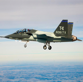 Boeing-Saab Team Picks Collins Aerospace to Supply T-X Ejection Seat, Landing Gear - top government contractors - best government contracting event
