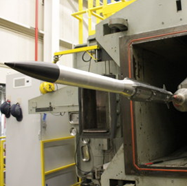 Raytheon Puts Ground-Launched Air-to-Air Missile Through Wind Tunnel Tests - top government contractors - best government contracting event