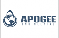 Apogee Wins Air Force Space Logistics Support Contract