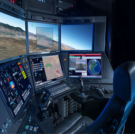 New General Atomics Ground Station Controls Reaper Drone in