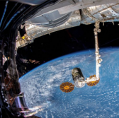 Northrop Spacecraft Leaves Space Station for CubeSat Deployment Mission - top government contractors - best government contracting event