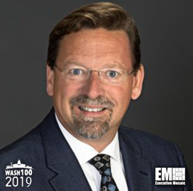 Chris Marzilli, General Dynamics EVP, Named to 2019 Wash100 for